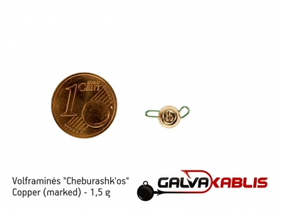Tungsten Cheburashka Copper 1.5g