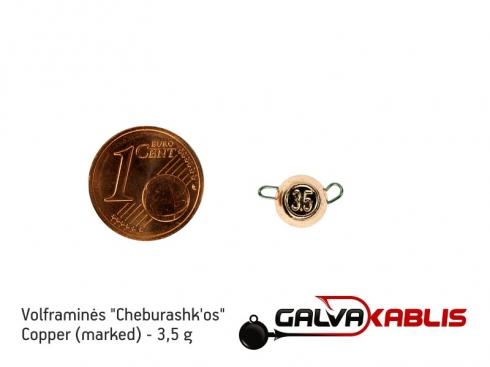 Tungsten Cheburashka Copper 3.5g