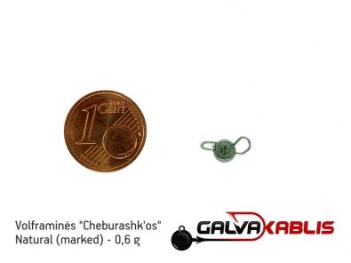 Tungsten Cheburashka Natural 0.6g