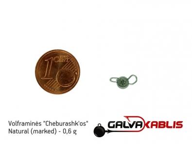 Tungsten Cheburashka Natural 0.6g