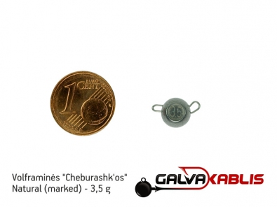 Tungsten Cheburashka Natural 3.5g