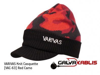 Knit Casquette VAC-63 Red Camo