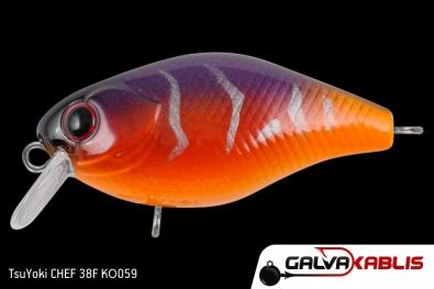 TsuYoki CHEF 38F KO059