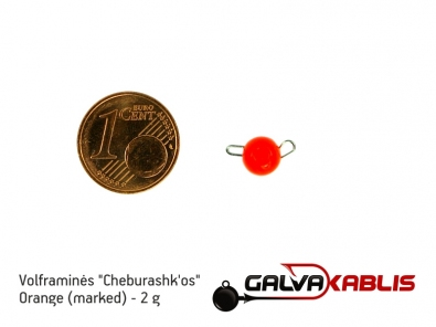 Tungsten Cheburashka Orange 2g