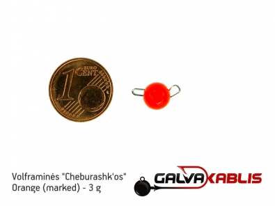 Tungsten Cheburashka Orange 3g