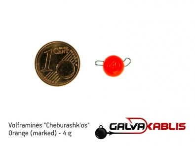 Tungsten Cheburashka Orange 4g