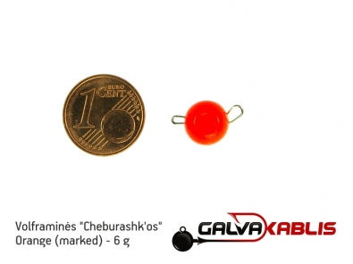 Tungsten Cheburashka Orange 6g