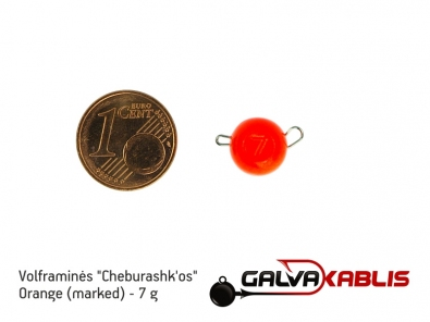 Tungsten Cheburashka Orange 7g