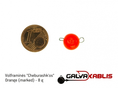 Tungsten Cheburashka Orange 8g