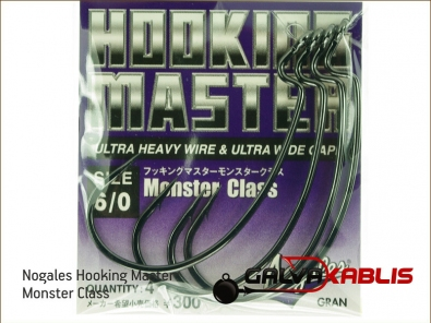 Nogales Hooking Master Monster Class 6 0