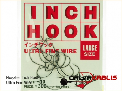 Nogales Inch Hook Ultra Fine Wire Large