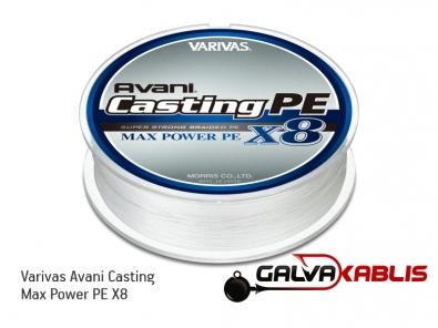 Varivas Avani Casting Max Power PE X8