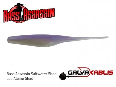 Assassin S.W.Shad Albino Shad